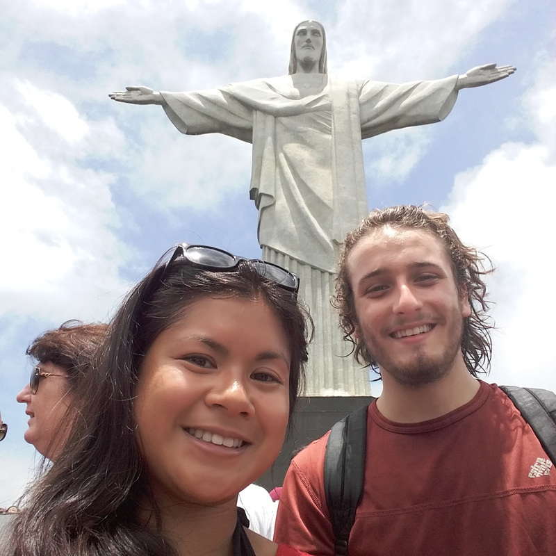 After hiking for 2hs to meet Cristo Redentor (totally worth the sweating), Rio de Janeiro