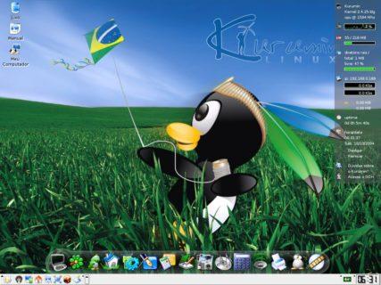 """Kurumin Linux 3.3, Oct 2004. Source: <a href=""""http://byteria.blogspot.in/2016/08/kurumin.html"""" target=""""_blank"""">http://byteria.blogspot.in/</a>"""